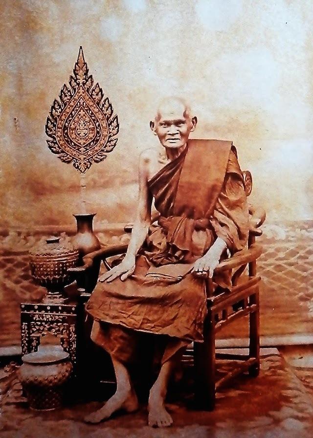 Hanuman Thawaay Hwaen Nuea Pong Ya Wasana Jinda Manee 2464 BE Luang Phu Bun Wat Klang Bang Gaew
