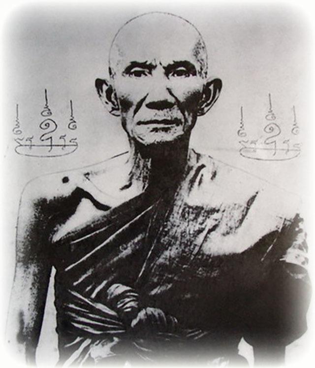 Khiaw Suea Tiger Tooth Amulet - Luang Por Nok - Wat Sangkasi - Circa 2450 BE - Kong Grapan Chadtri Maha Amnaj Talismanic Amulet of Master Class Status