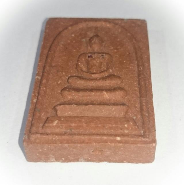 Pra Somdej Nuea Daeng with Ruby Fragments - Luang Por Niyom - Wat Takian Tia  Circa 2540 BE