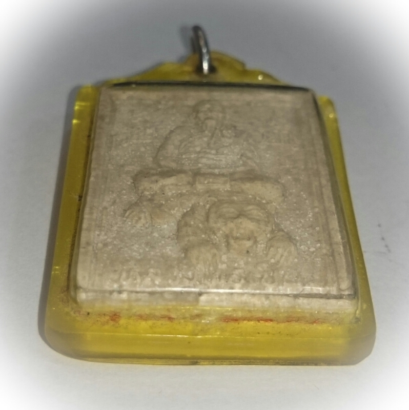 Pra Luang Por Phern Khee Suea (Riding a Tiger)  - Nuea Wan Herbal Powders-Som Pratana Edition 2537 BE - Wat Bang Pra
