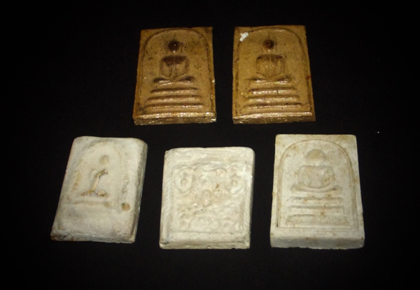 Amulets made by Luang Phu Tim