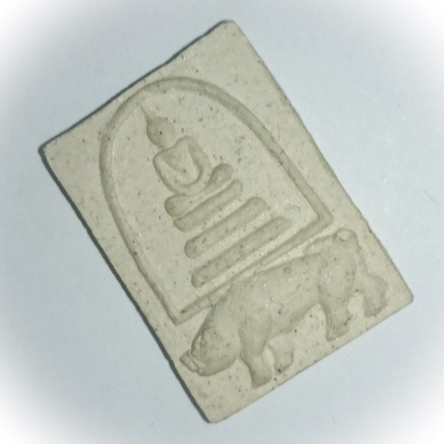 Pra Somdej Pim Khee Moo Buddha Riding a Boar Amulet - Puttakun Powders - Luang Por Seng - Wat Bang Na 2525 BE 02670