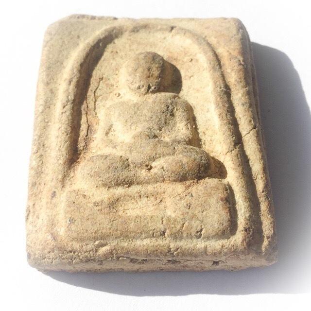 Pra Luang Phu Tuad Pim Dee Luang Wat Prasat Bunyawas 2505 BE -  + Ittijae Powders - Blessed in 2 Ceremonies by 234 Guru Masters 02698