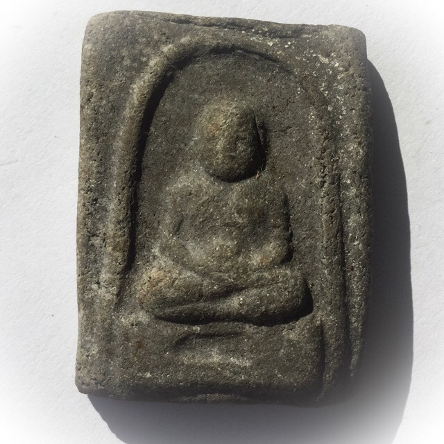 Pra Luang Phu Tuad Pim Dee Luang - Wat Prasat Bunyawas 2506 BE -  Bailan + Kakyayaks Powders - Blessed in 2 Ceremonies by 234 Guru Masters 02699