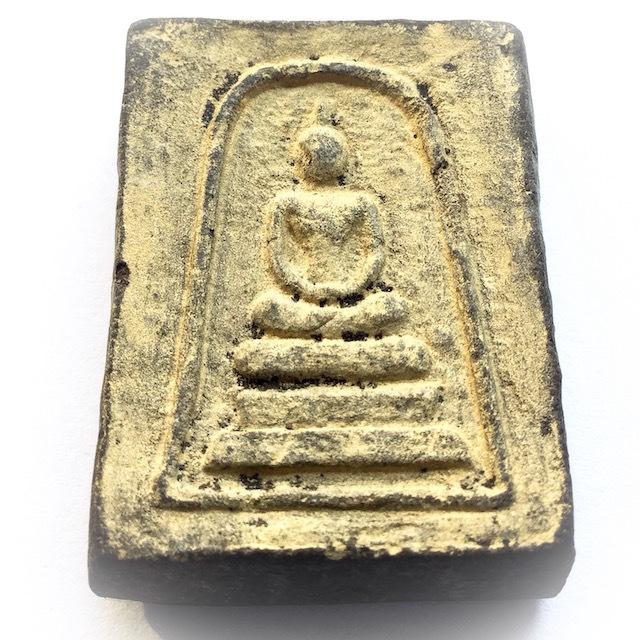 Somdej Pai Bpok Hnaa Tong Hlang Sangkajjai Na Chaa Li Dti 2495 BE - Luang Por Pina - Wat Sanom Lao 02740