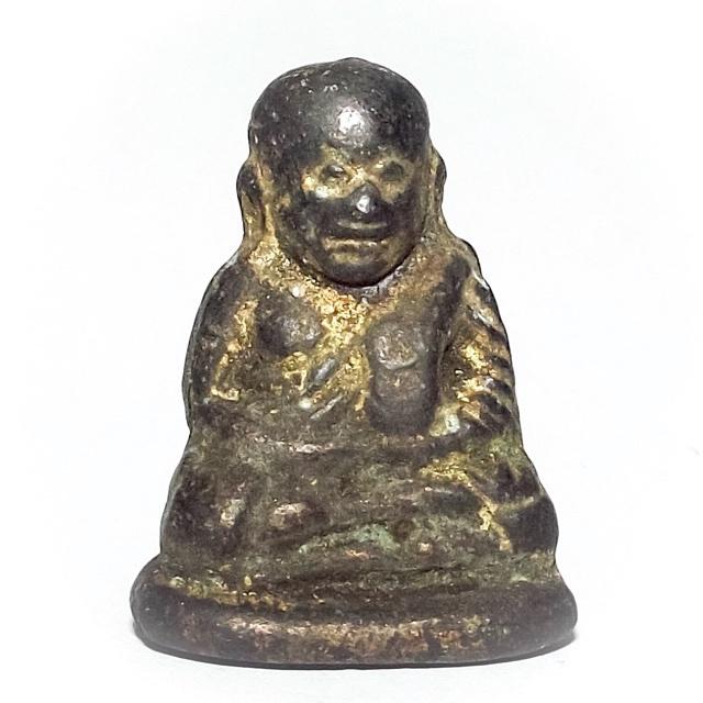 Pra Luang Por Ngern Pim Khee Ta Pern Dtaek - Broken Gun Edition 2528 BE - Wat Kongkaram (Wat Bang Klan)