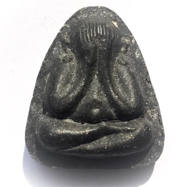 Pra Pid Ta Maha Lap Na Ta Na - Nuea Pong Bailan 2 Silver Takrut - 2522 BE Luang Phu To Wat Pradoo Chimplee 02839