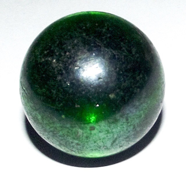 Look Gaew Sarapat Neuk Crystal Wishing Ball - Large 2 Cm - Luang Por Opasi - Asrom Bang Mot 2490 BE 02807