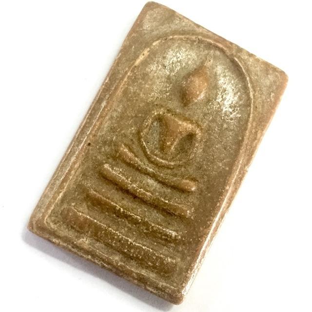 Pra Somdej Hlang Roop Muean 2505 BE - Nuea Pong Phao Gae Nam Man Yuk Dton - Early Era Amulet - Luang Por Pae Wat Pikul Tong 02950