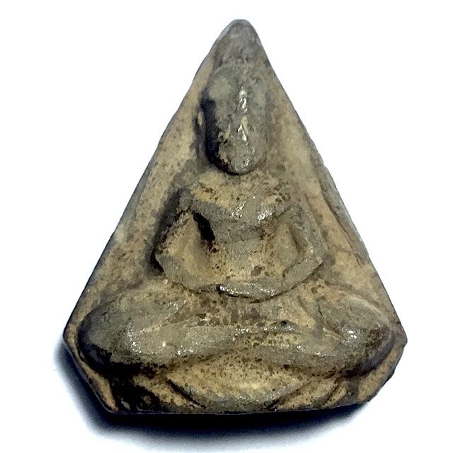 Pra Po Jak Pim Ha Liam 2500 BE - Nuea Din Phao See Pan - 5 Edges Buddha Amulet - Luang Por Lee Wat Asokaram 03006