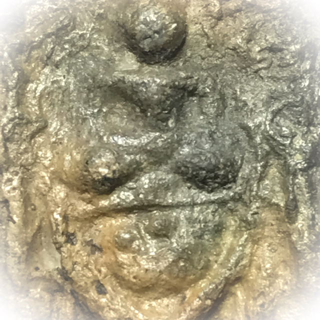 Pra Putta Jao Khee Ling Ud Tian Chai Buddha riding Hanuman - Luang Phu Yim - Wat Jao Jet