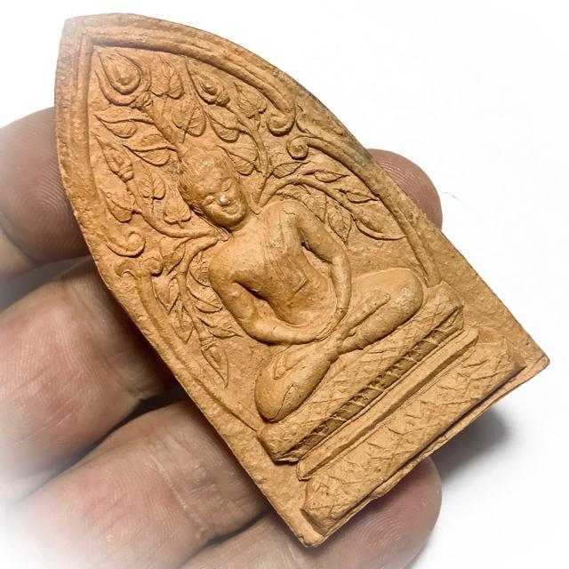 Pra Put Pim Prok Po Pim Yai Jumbo Size Bodhi Tree Buddha 2505 BE - Nuea Din Klueab Ya Luang Por Te Wat Sam Ngam