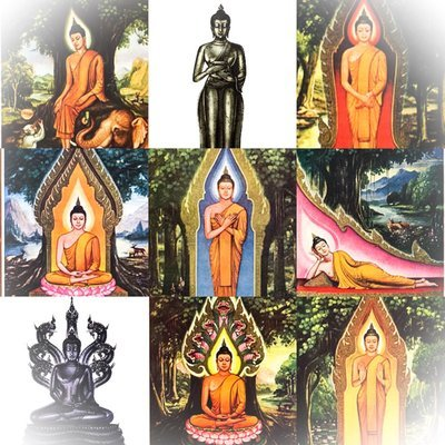 Birthday Buddhas | Dharma Thai – Thai Buddhism