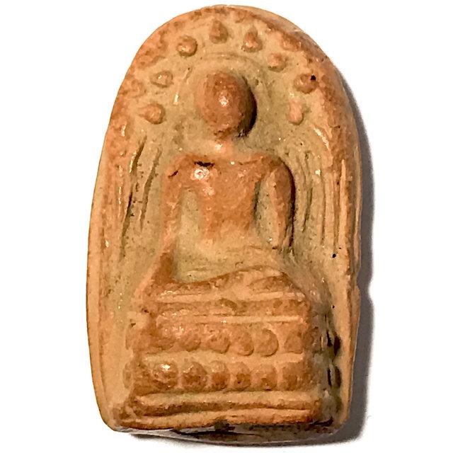 Pra Kong Lampun Clay Benjapakee Amulet - Nuea Din - Luang Por Guay Wat Kositaram 03191