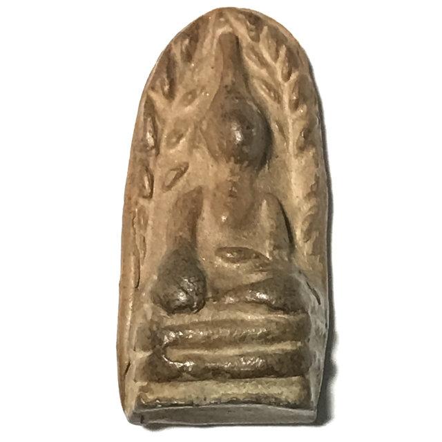 Pra Rod Mer Dto Big Hand Buddha Amulet 2521 BE Nuea Din - Luang Por Guay Wat Kositaram