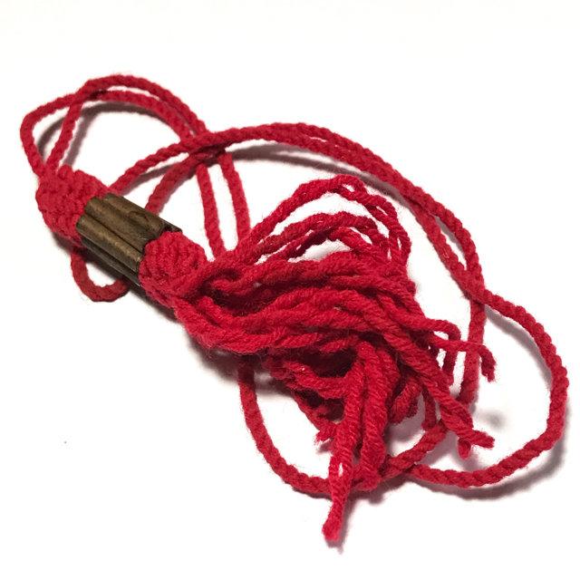 Takrut Sangwal Gao Gum Nine Yantra Spells Spellbound Necklace Wicha Lanna -  Luang Phu Kroo Ba Wang Wat Ban Den 03239