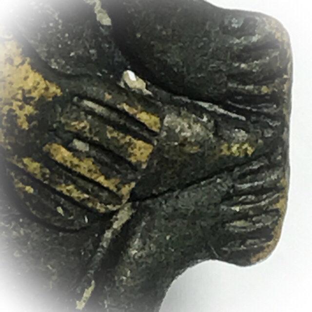 Dtao Pra Pid Tawarn Silapa Nakorn Sai Khao Or Circa 2500 BE Nirodha Turtle-Buddha - Samnak Khao Or