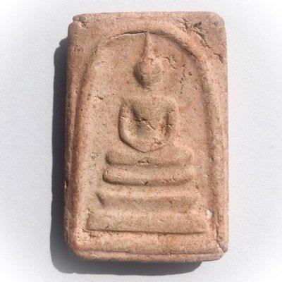 Pra Somdej Gan Pai Pim Yai Nuea Pong Ittijae Circa 2483 - 2493 BE - Luang Por Jong Wat Na Tang Nork