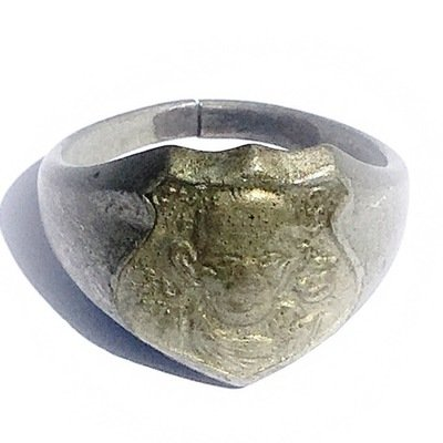 Hwaen Gan Pai  - Magic Ring of Protection - Extremely Rare Ancient Amulet - Luang Por Jong Wat Na Tang Nork 2499 BE