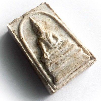 Pra Pim Pratan Porn Pim Lek 2517 BE - Buddha Bestowing Blessings Amulet - Luang Por Pae Wat Pikul Tong