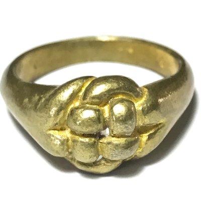 Hwaen Pirod Hua Dtakror 1 Khad Niyom First Edition - Magic Ring of Power + Protection 2.2 Cm - Luang Por Sai Wat Tong Kung