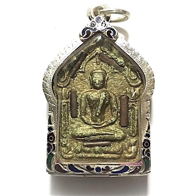 Khun Phaen Prai Kumarn Pim Niyom 2515 BE Block 2 Nuea Khaw Hniaw Sukh 9 Takrut + Look Bat Gammagarn - Luang Phu Tim 03338