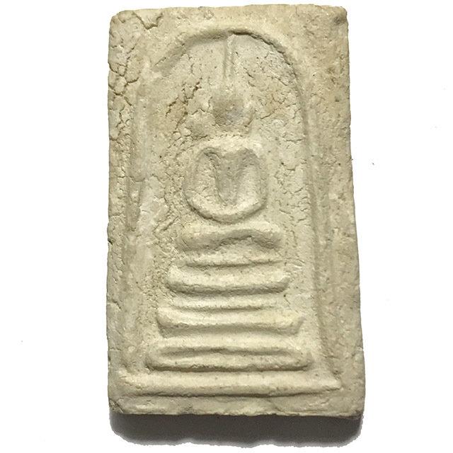 Pra Somdej Thaan Koo Pim Hoo Jud Block Niyom With Certificate 2509 BE Masterclass Amulet - Wat Bang Khun Prohm 03381