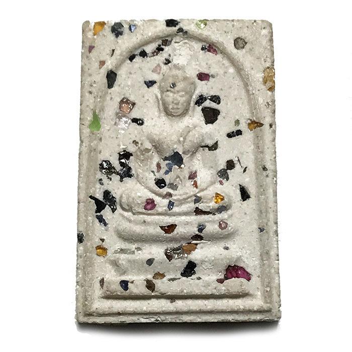 Pra Somdej Roey Ploi Hlang Yant 2512 BE Luang Por Guay Ultra Rare Masterpiece Amulet 03429