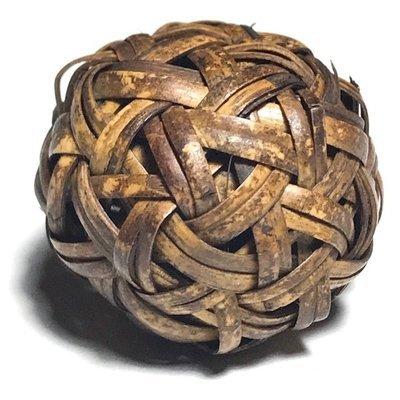 Look Dtakror Ud Takrut Kring Sacred Wicker-Ball Yantra Spell Circa 2480 BE - Luang Por Sud - Wat Ka Long