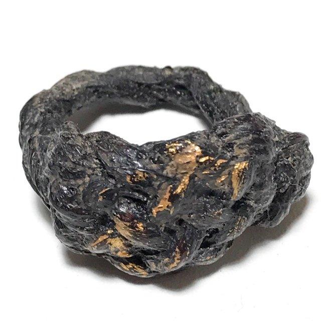 Hwaen Pirod Ancient Warrior Ring Amulet of Invincibility Luang Por Muang Wat Ban Tuan Circa 2460 BE