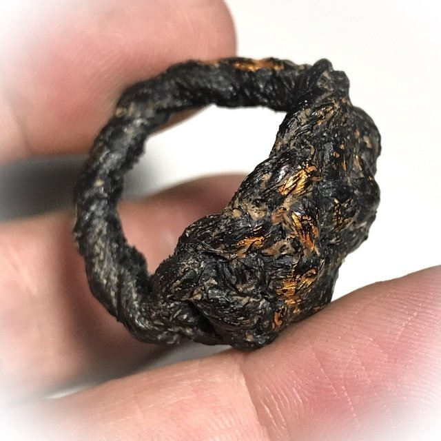 Hwaen Pirod Ancient Warrior Ring Amulet of Invincibility Luang Por Muang Wat Ban Tuan Circa 2460 BE