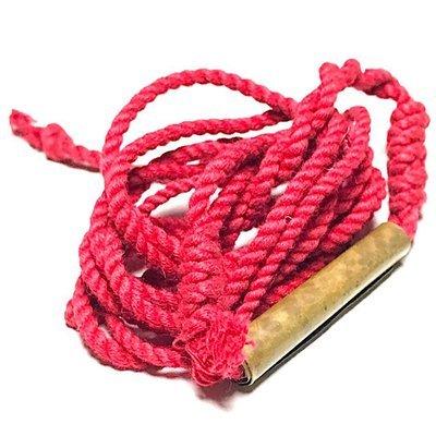 Takrut Sariga Sangwal Yantra Spell on Cord Necklace Wicha Lanna Kroo Ba Wang Wat Ban Den