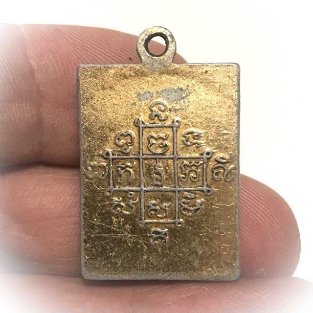 Locket Roop Tai 3 Takrut Sam Kasat 2510 BE Amulet for Protection, Prosperity and Mercy Charm Luang Por Mum Wat Prasat Yer