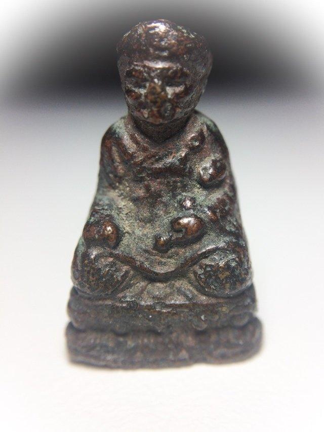 Roop Lor Tai Hong Kong 2493 BE Chinese Mahayana Guru Monk Amulet 1st Edition Pim Hua Gleung Niyom
