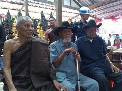 thre threee great gangsters of legend Suea Dam, Suea Bai, Suea Mahesworn