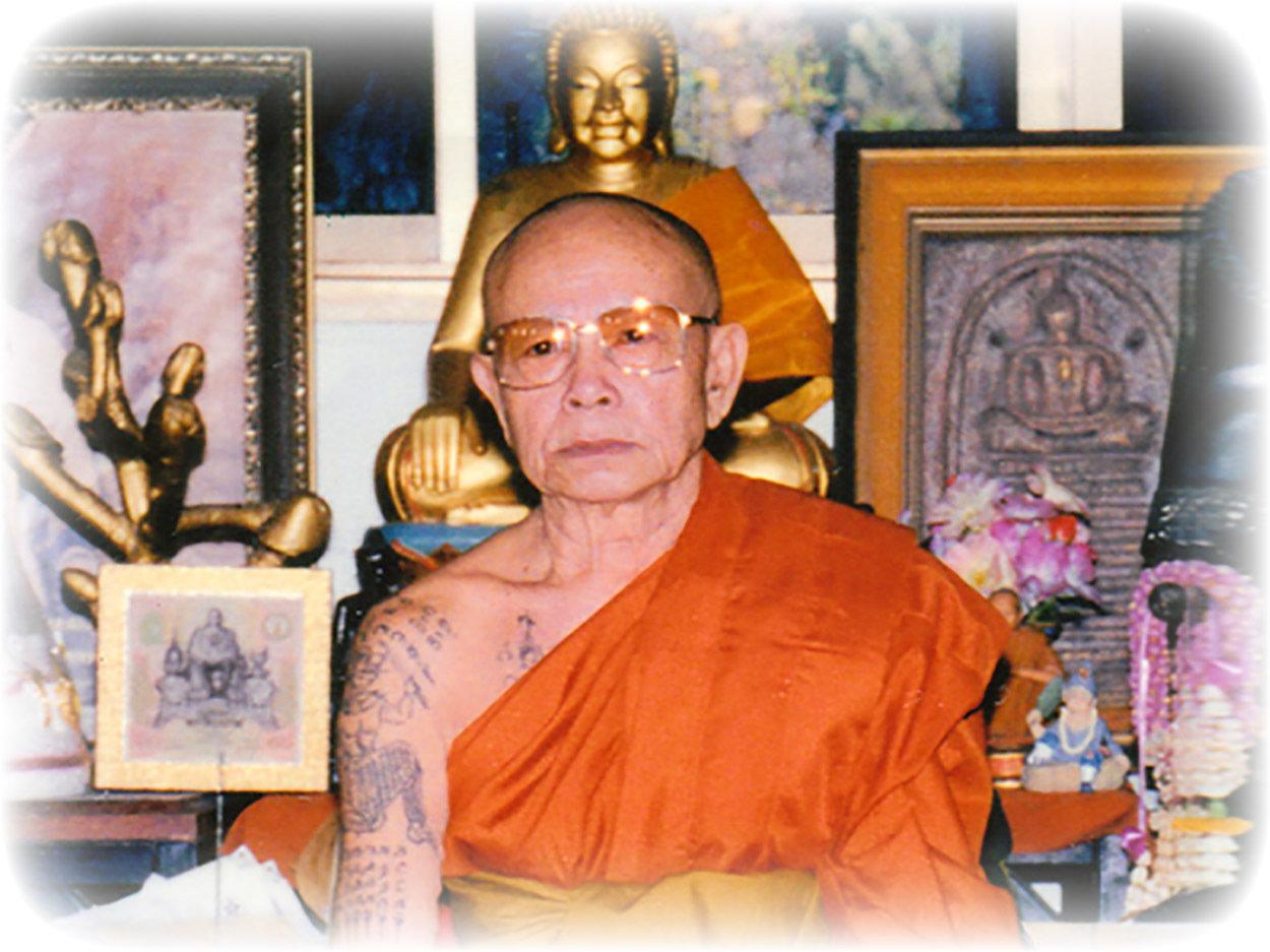 Pra Ruesi Pong Wan Pasom Rae Saksit Ongk Kroo Solid Gold Takrut Luang Phu Prohmma