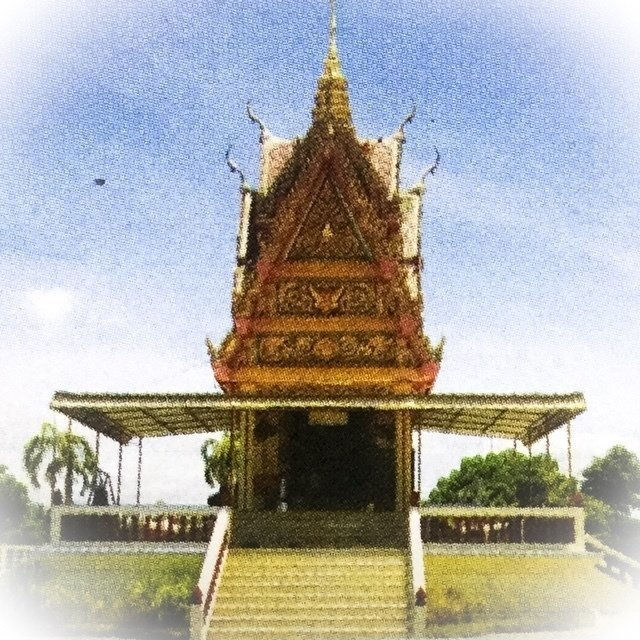 Pra Pong Supan Nuea Pong Puttakun  2512 BE Rare Benjapakee Amulet & Authenticity Certificate Luang Por Mui Wat Don Rai
