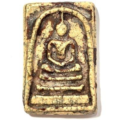 Somdej Wat Rakang Long Rak Chart Pim Gaes Talu Sum Block Chang Luang Wijarn & Authenticity Certificate Somdej Dto Free EMS Free Gold Casing