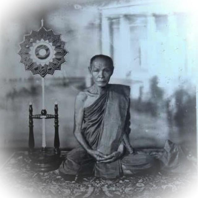 Hwaen Pra Somdej Nga Gae Carved Ring with Buddha Image Circa 2490 BE Luang Por Gan Wat Khao Gaew