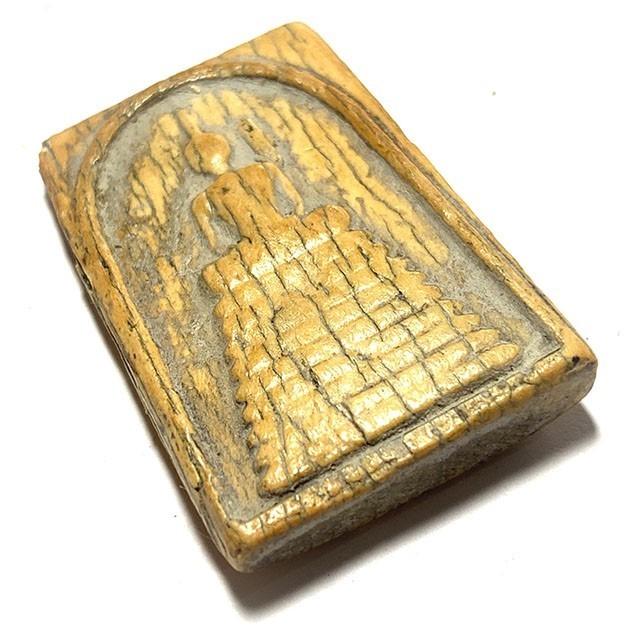 Pra Somdej Gae Nga Pim Gao Chan Carved Ivory Buddha 9 Tiered Dais Luang Por Derm Wat Nong Po