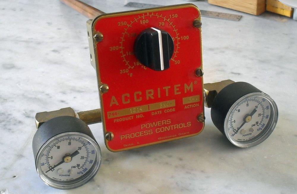 Powers Accritem 744-1214 Temperature Controller