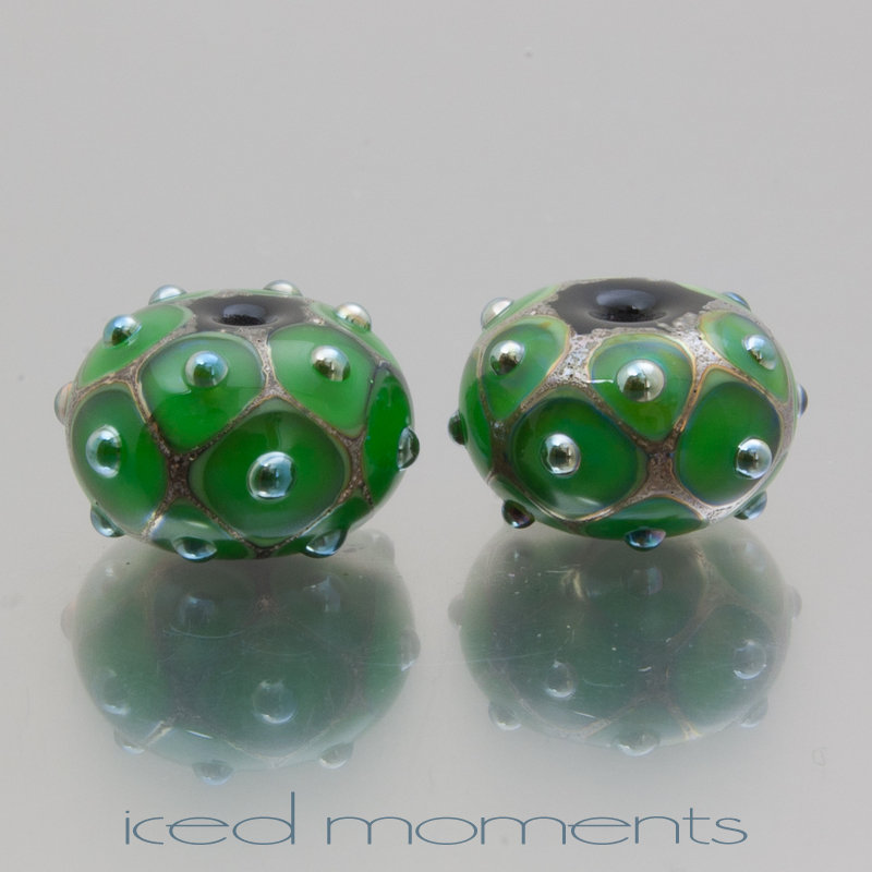 The Net Effect in green and silver