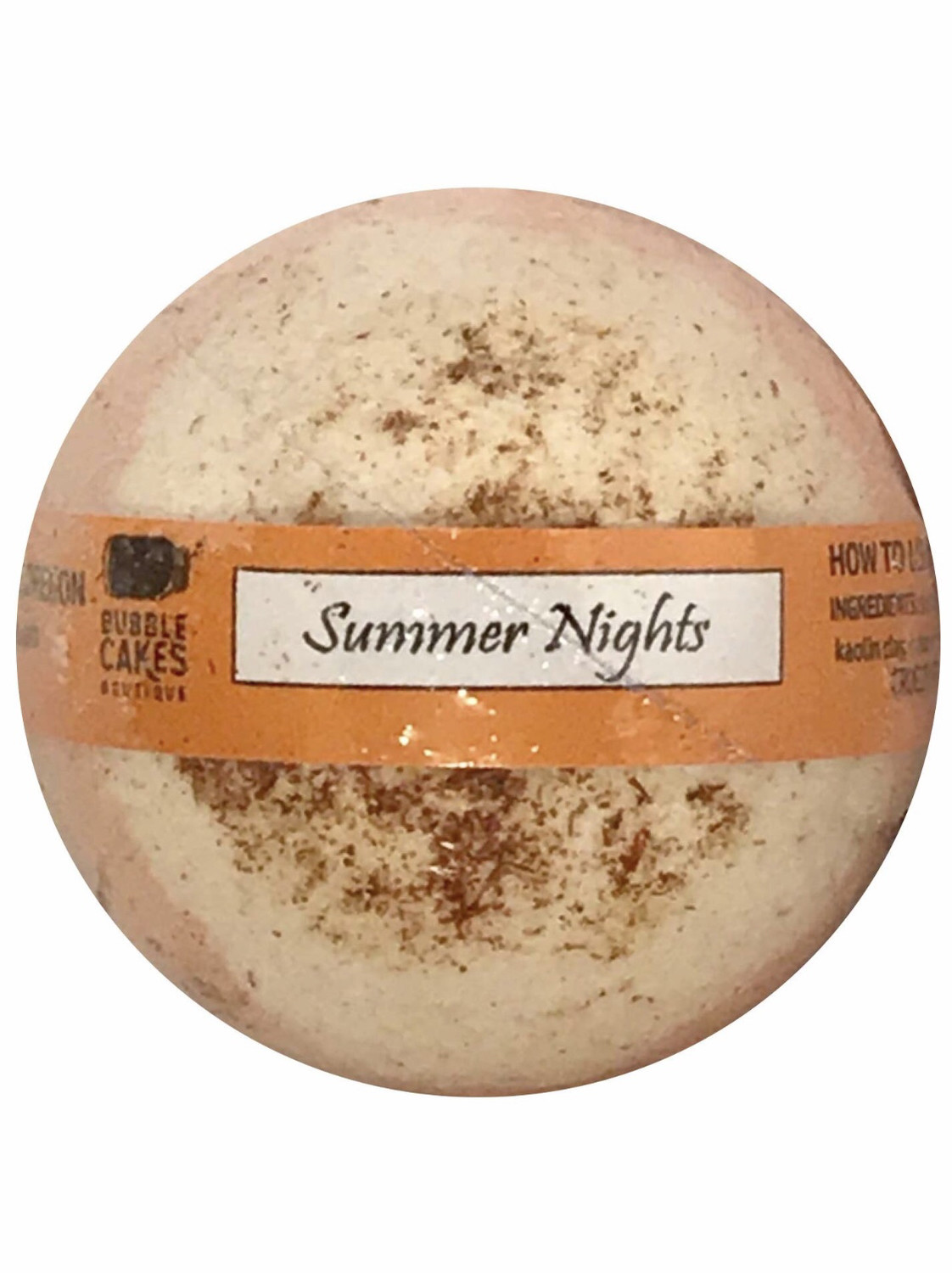 Summer Nights Asian Pear & Lily  Bath Bomb