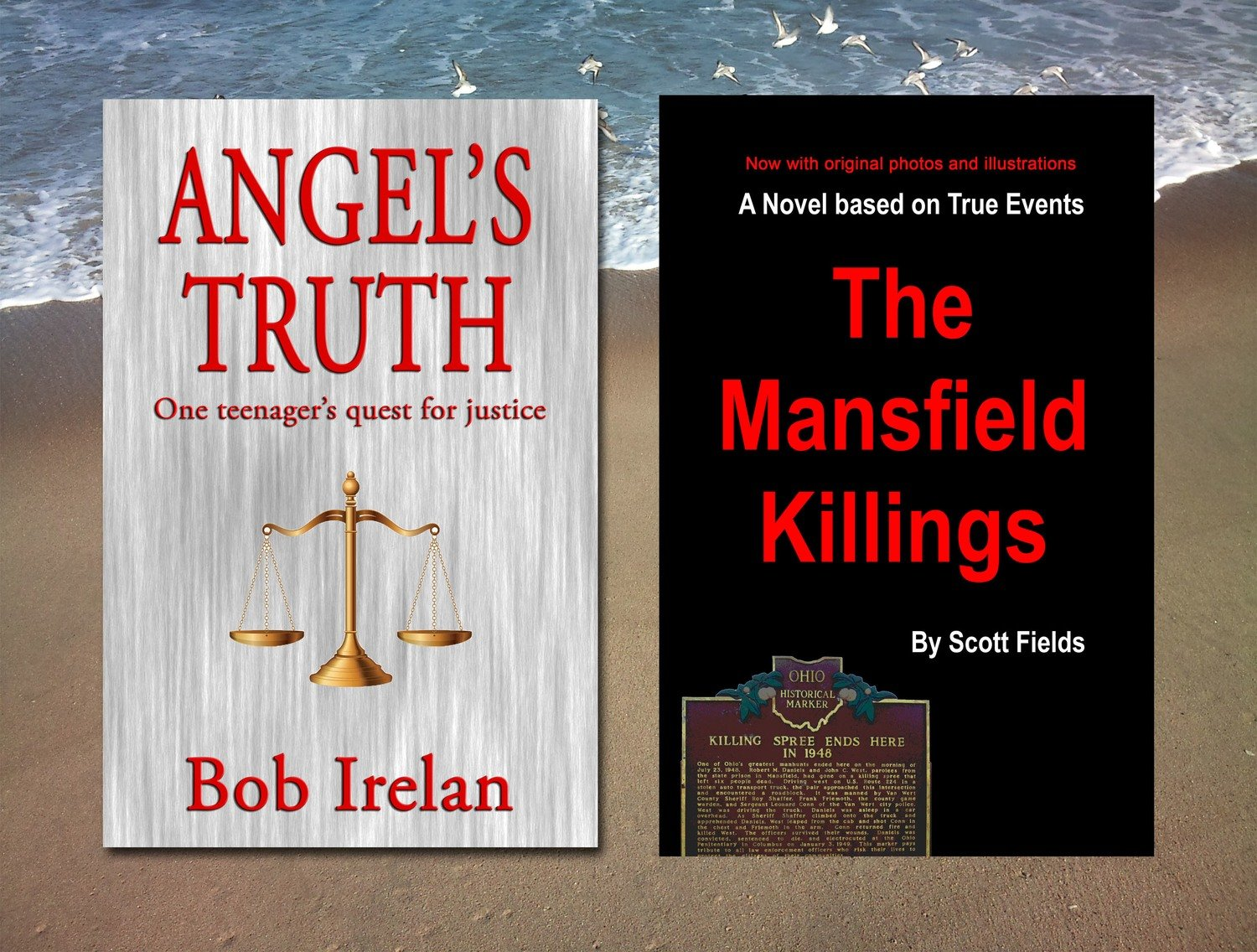 Angel's Truth & The Mansfield Killings, both for $12.99