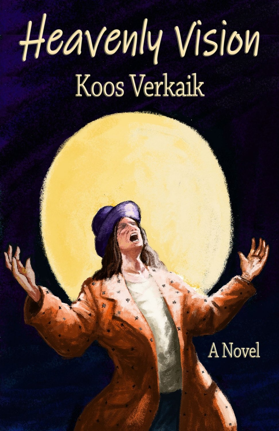 Koos Verkaik's excitingly mysterious novel Heavenly Vision