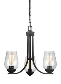 Blacksmith Three Light Chandelier
