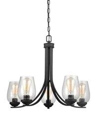 Blacksmith Five Light Chandelier