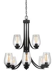 Blacksmith Nine Light Chandelier