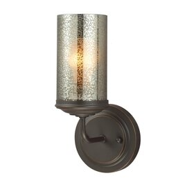 Autumn Bronze One Light Wall Sconce