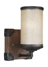 Stardust / Cerused Oak One Light Wall Sconce